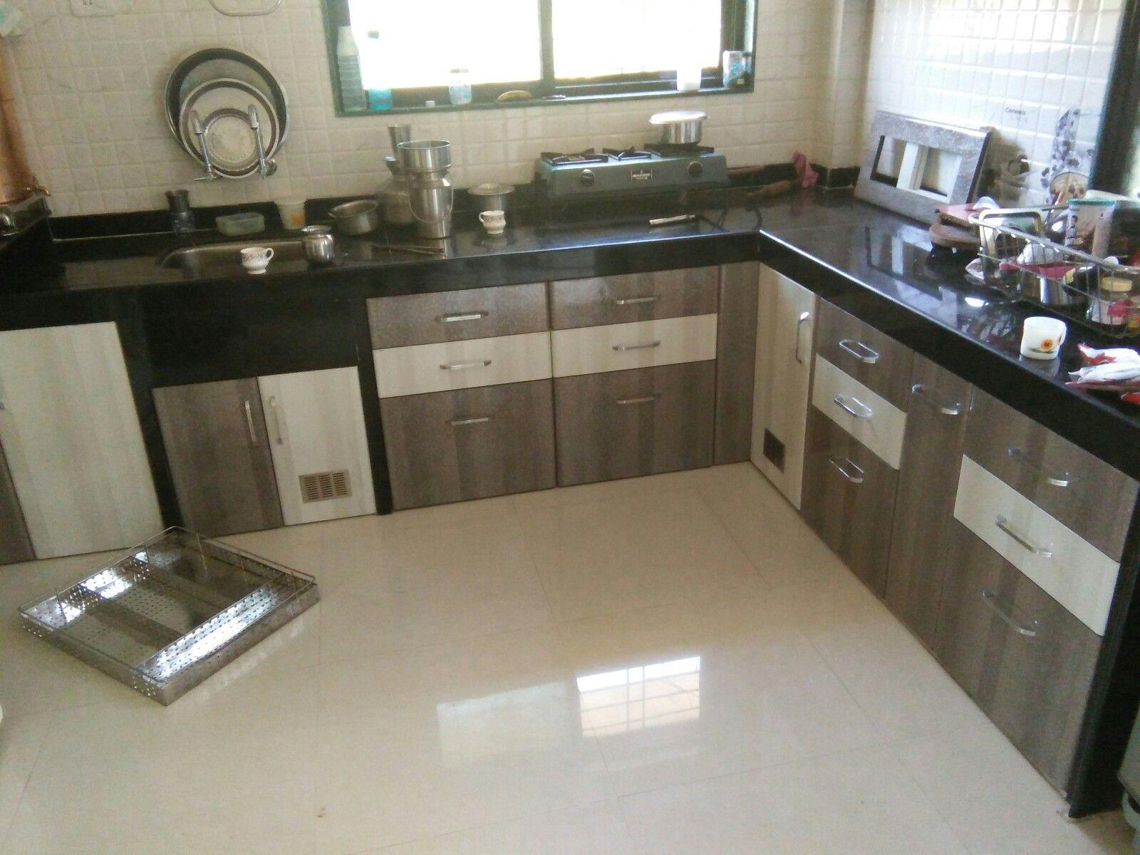 L Shaped Modular Kitchen Swara S Kitchen Interior Interiors In
