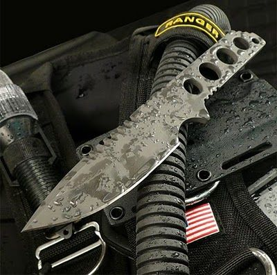 coolpics: 10 Cool and Unusual Knives    Dive Utility Knife