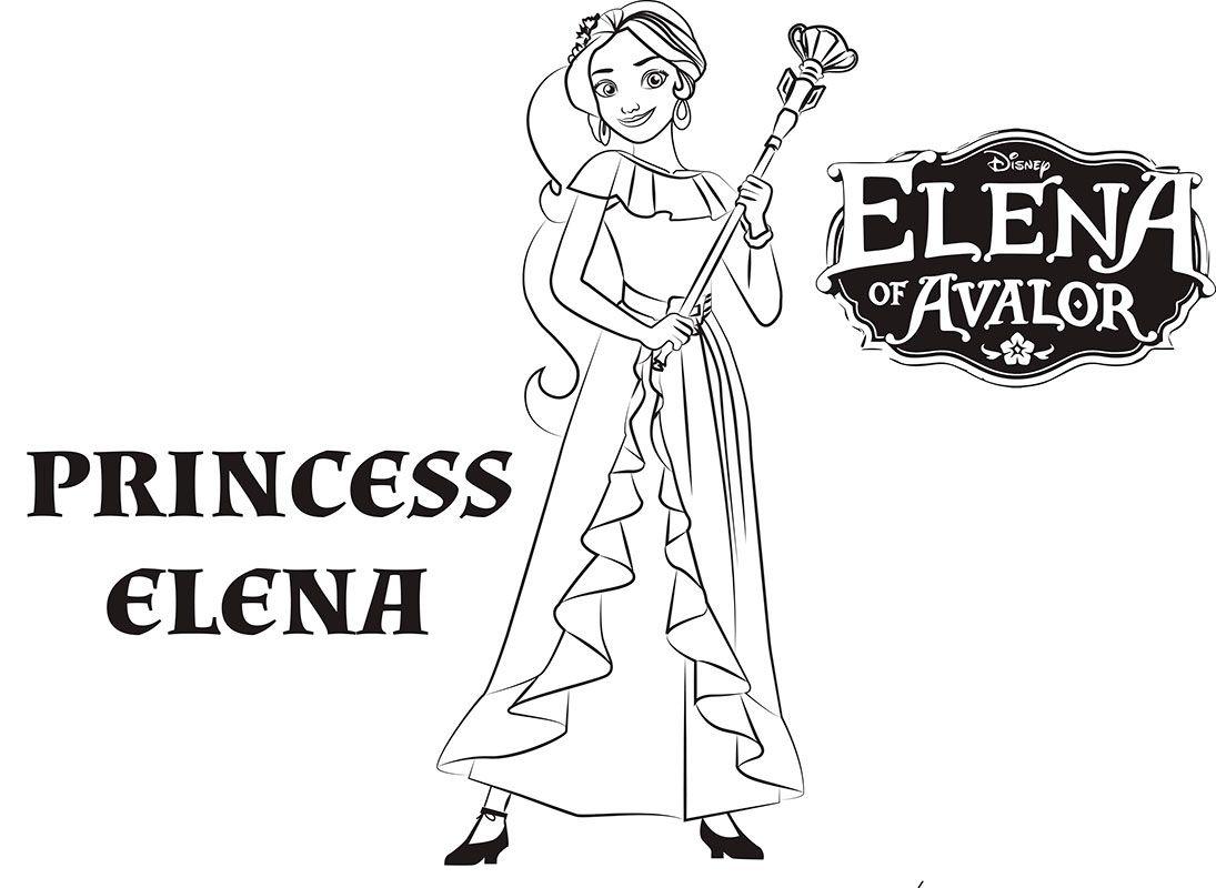 Princesa Elena De Avalor Dibujos Colorear Dibujalandia Dibujos Para Colorear Con Los Mas Pequenos Dibujos Infantiles Zootropolis Desenhos Colorir Princesas