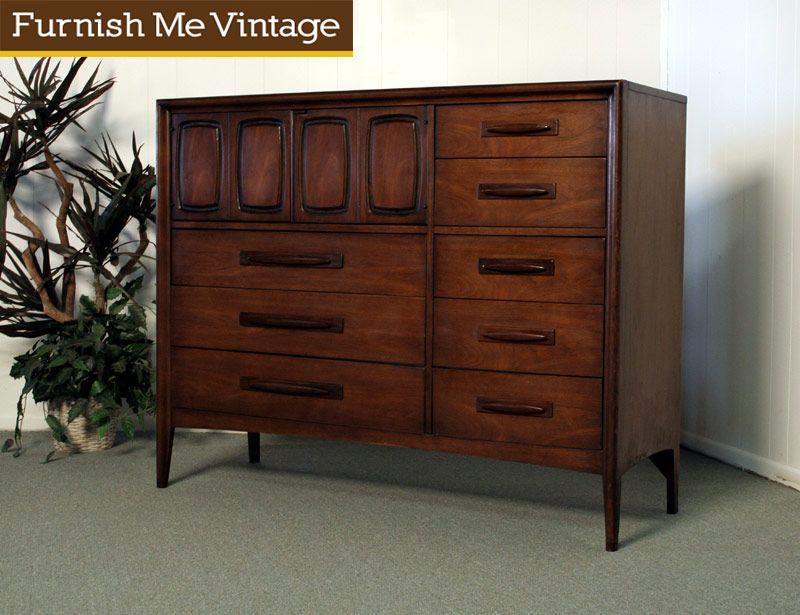 Best Vintage Broyhill Emphasis Magna Dresser Mid Century Modern 400 x 300