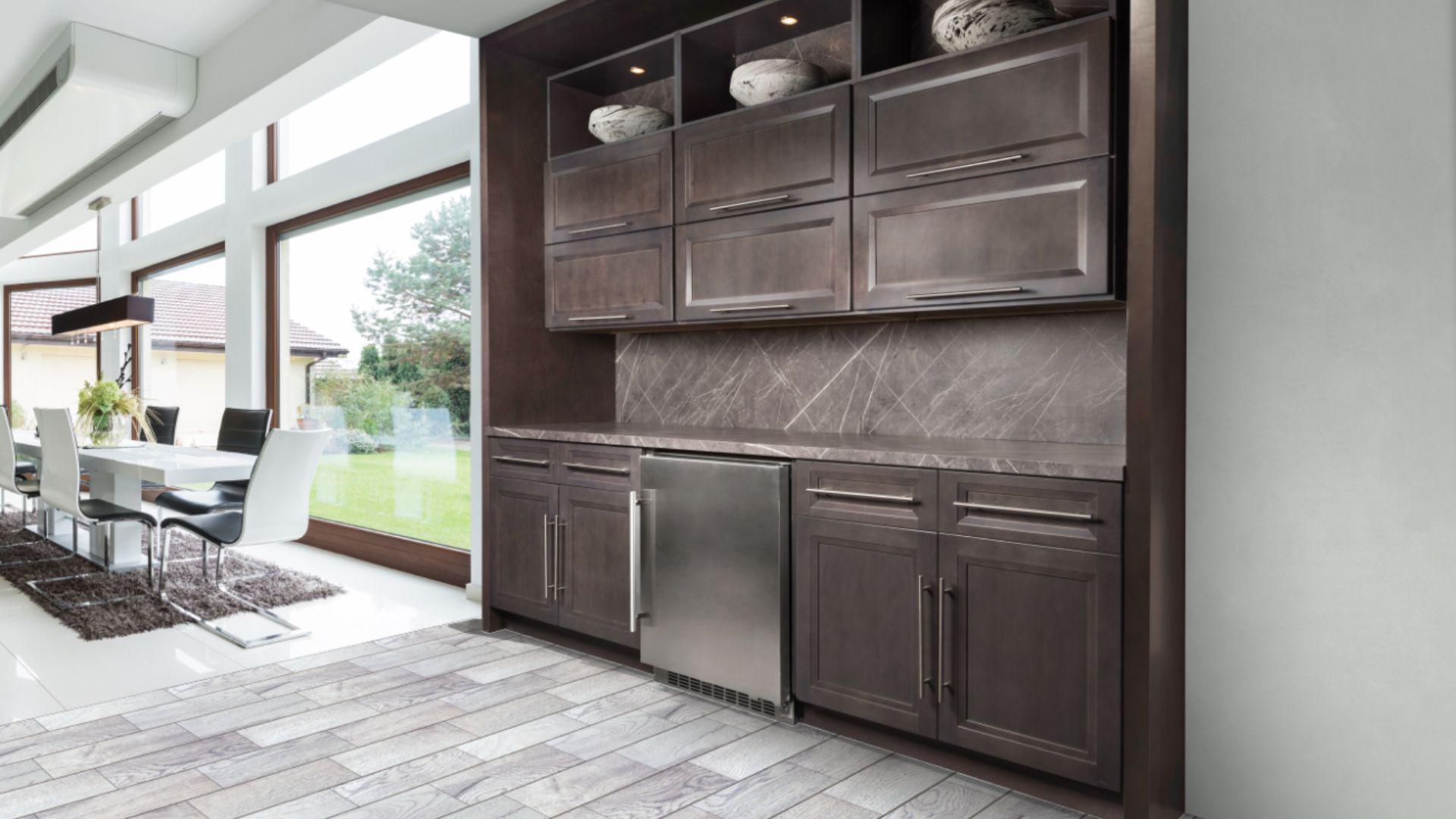 Allure/ Onyx/ Cobblestone | Cabinets, countertops, Custom ...