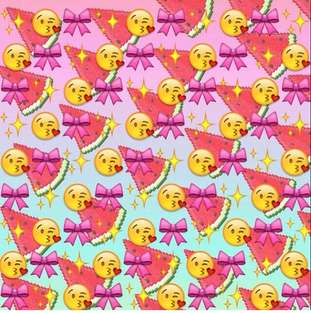 Watermelon Emoji | EMOJI BACKGROUNDS | Pinterest