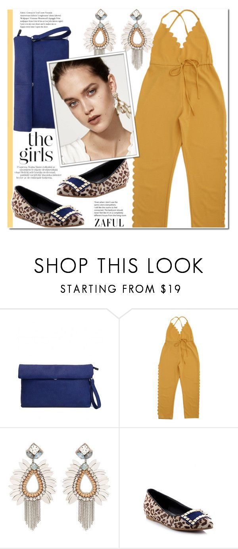 """Yellow pants"" by duma-duma ❤ liked on Polyvore"