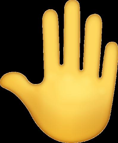 Hand Emoji Free Download Iphone Emojis Hand Emoji Emoji Raised Hands Emoji