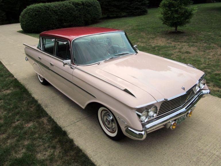 1961 Rambler Ambassador Custom Four Door Sedan Rambler Classic Cars American Motors
