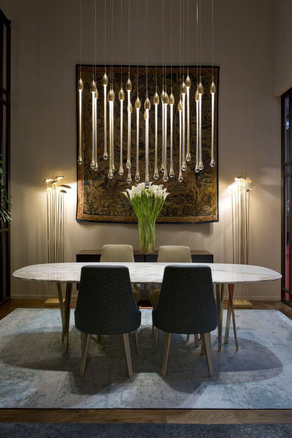 Luxury Dining Room Lighting Design Rooms Interior