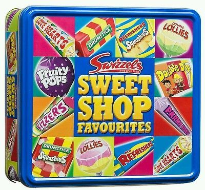 750g Swizzels SWEET SHOP Favourites Tin Catering