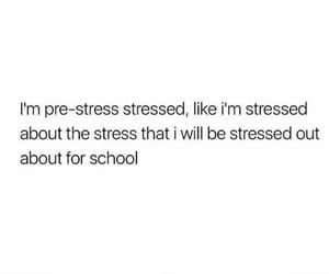 Sad Stress Quotes I'm stressed about my exam :(  on We Heart It,  #exam #Heart #schoolquotesstress #stressed