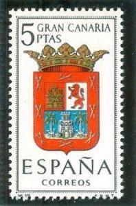 1963 España-Escudo de la Provincia de Gran Canaria