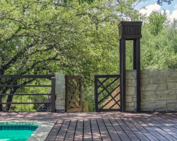 Unique modern deck gate home ideas also top best backyard designs outdoor living rh pinterest
