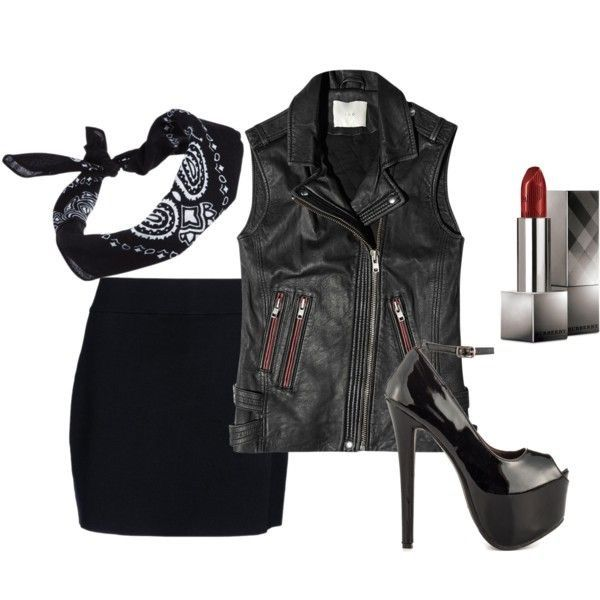 Pin by Alanna on Fashion/Style Pinterest Fashion - biker chick halloween costume ideas