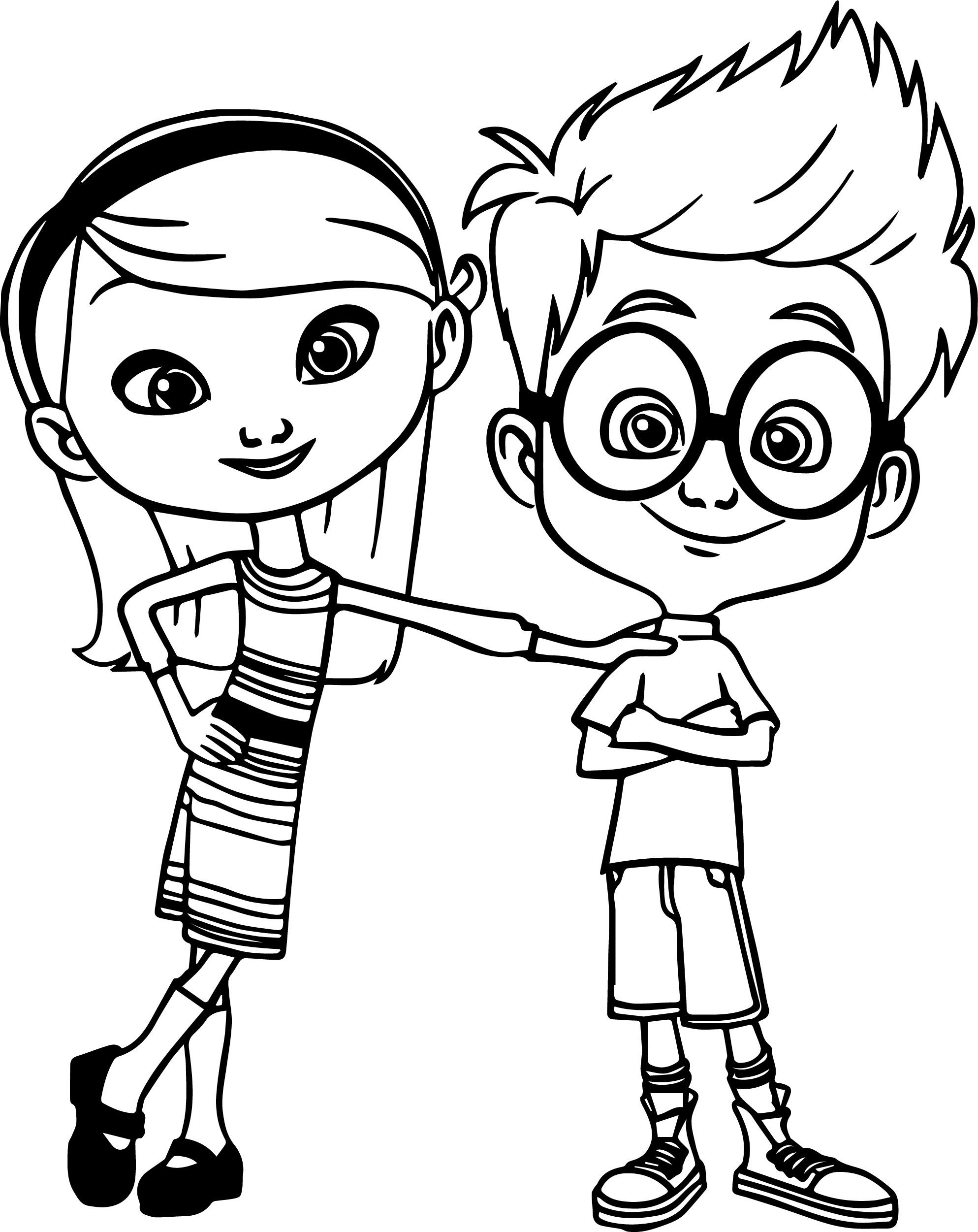 Mr Peabody Coloring Pages Coloring Pages For Kids