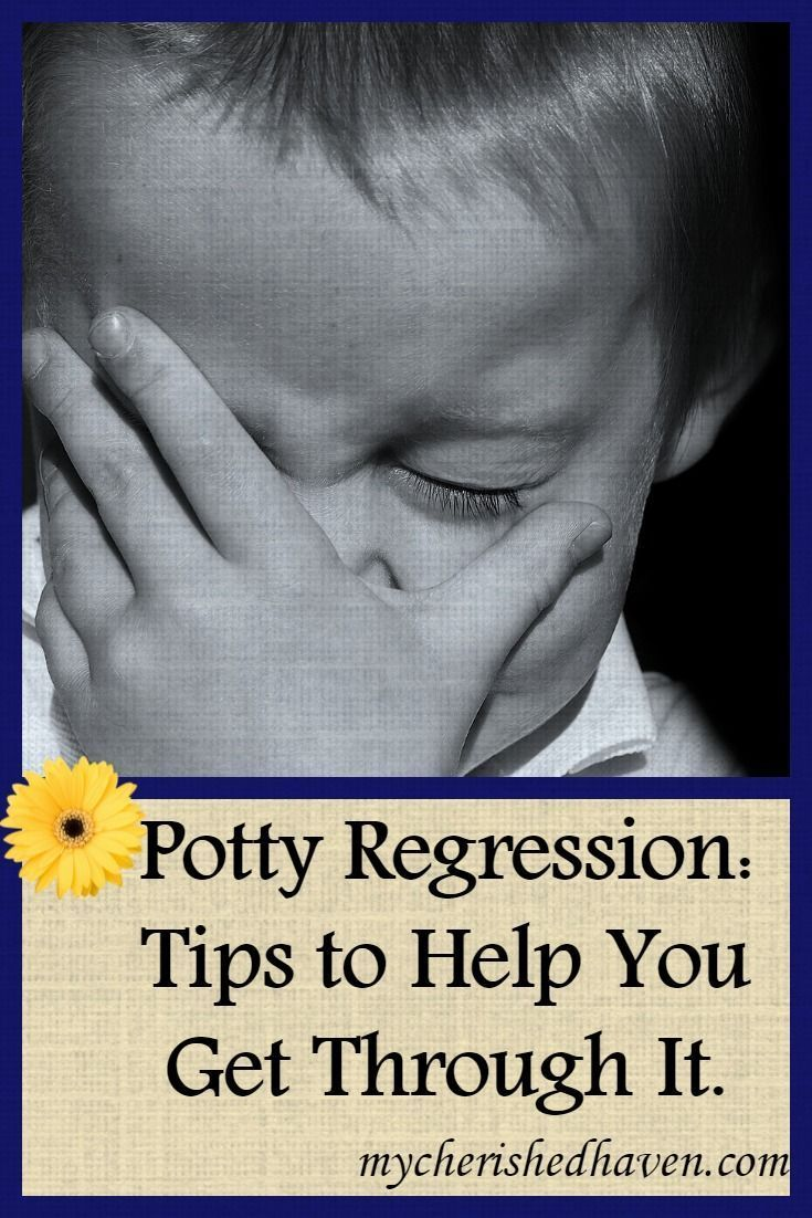 Potty Regression: Tips to Help You Get Through It