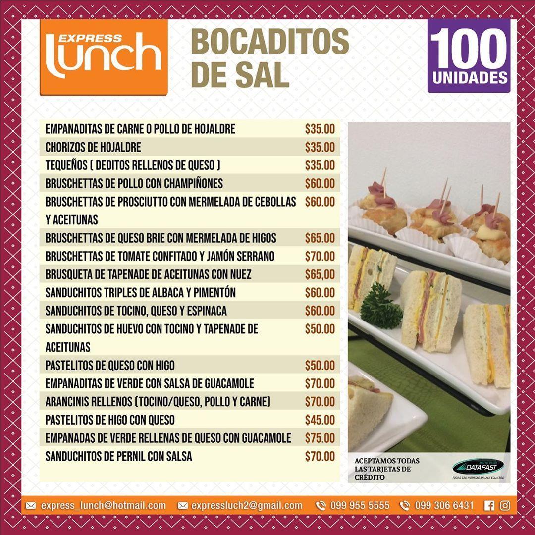 Nuestros bocaditos de sal para toda ocasión.! Siempre disponibles.! . . . Nuestros #boxlunch son ide...