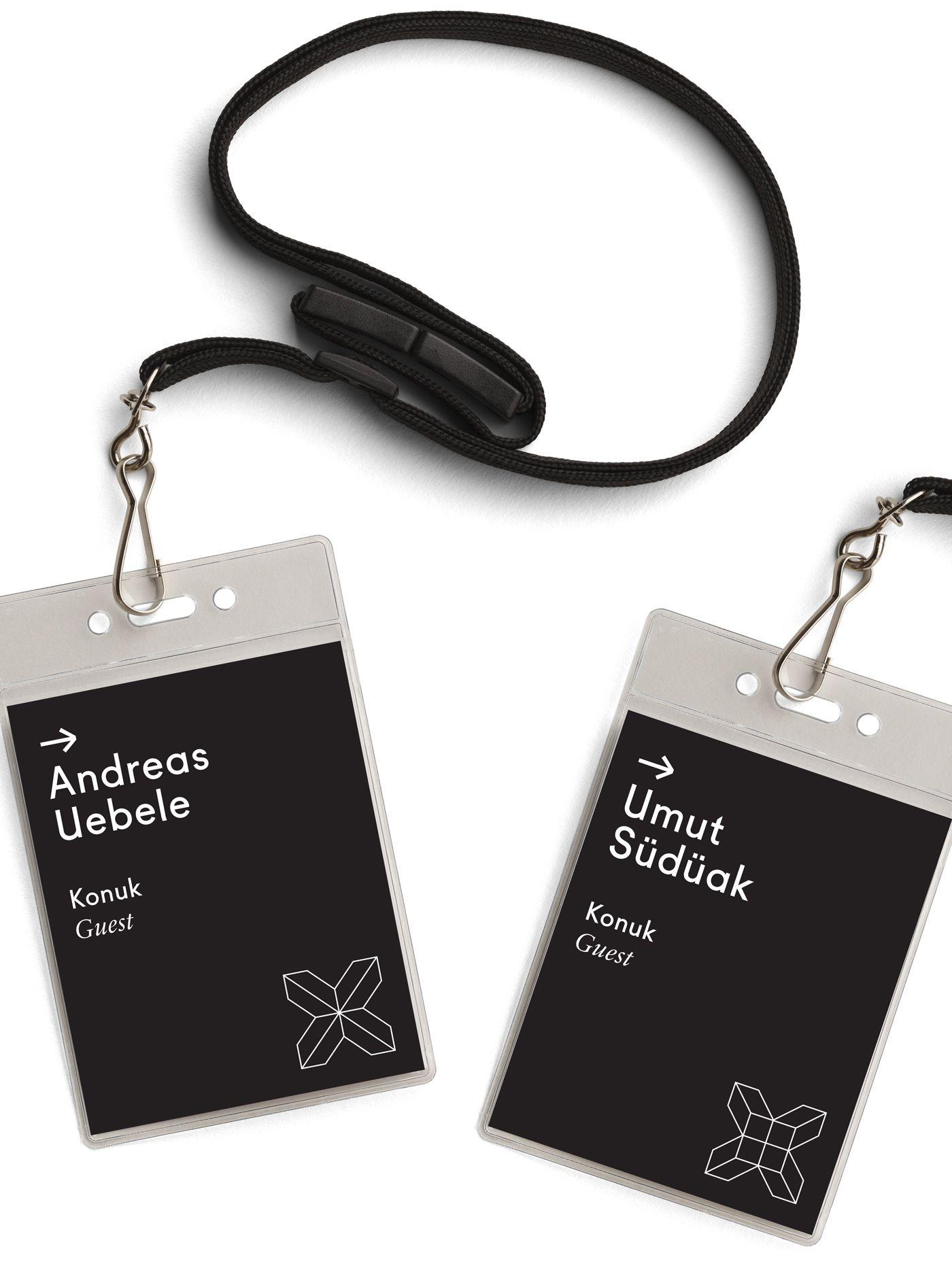 Passes mockup #security #crew #tag | Identity card design ...