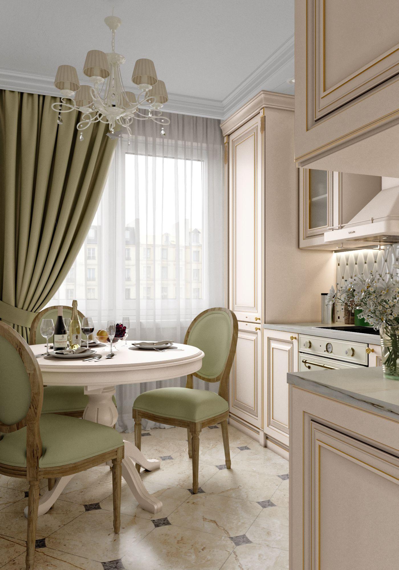 Классическая кухня | Кухня в классическом стиле | Дизайн ...