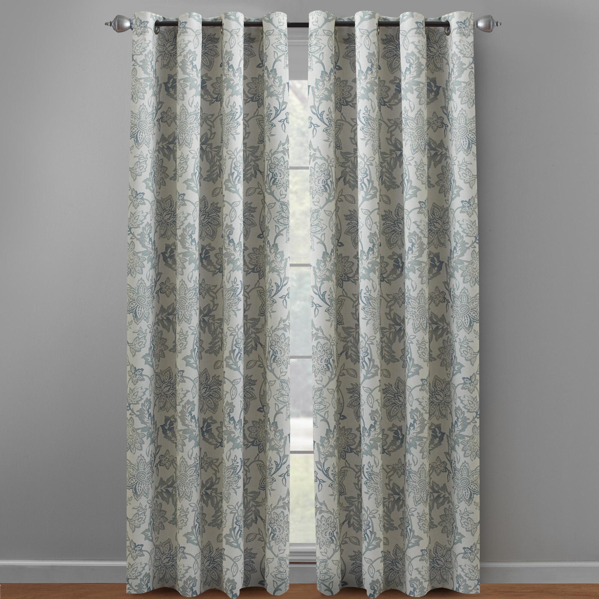 Ivy Eclipse Sundown Grommet Window Panels Set Of 2 Window Panels Furniture Gifts Energy Saving Curtains