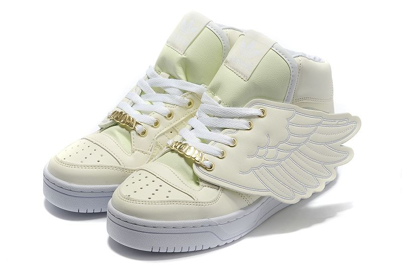 Cheap Adidas X Jeremy Scott Wings Glow In Dark Shoes Outlet