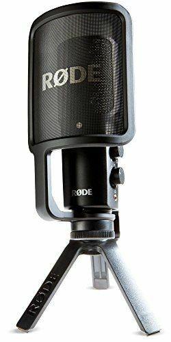 Rode NTUSB Microphone, Microphones, Usb