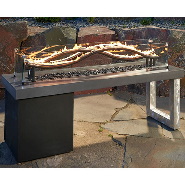 Wave Gas Fire Pit Table Natural In 2019 Products
