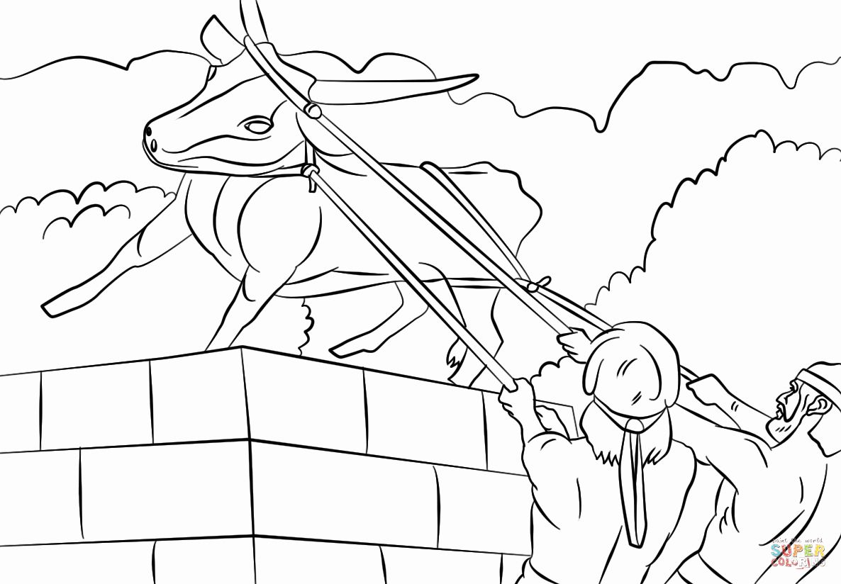 Golden Calf Coloring Page Best Of Josiah Destroyed The Golden Calf