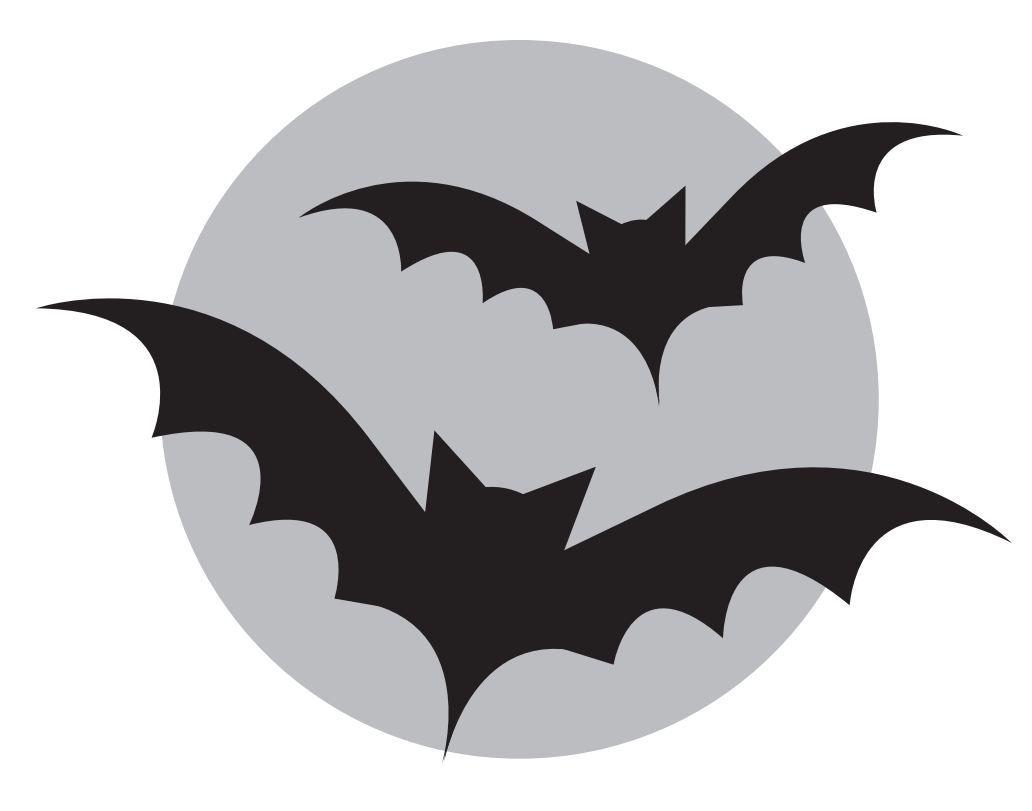 10 Free Halloween Scary Pumpkin Carving Stencils, Patterns ... |Bats Boo Pumpkin Stencil