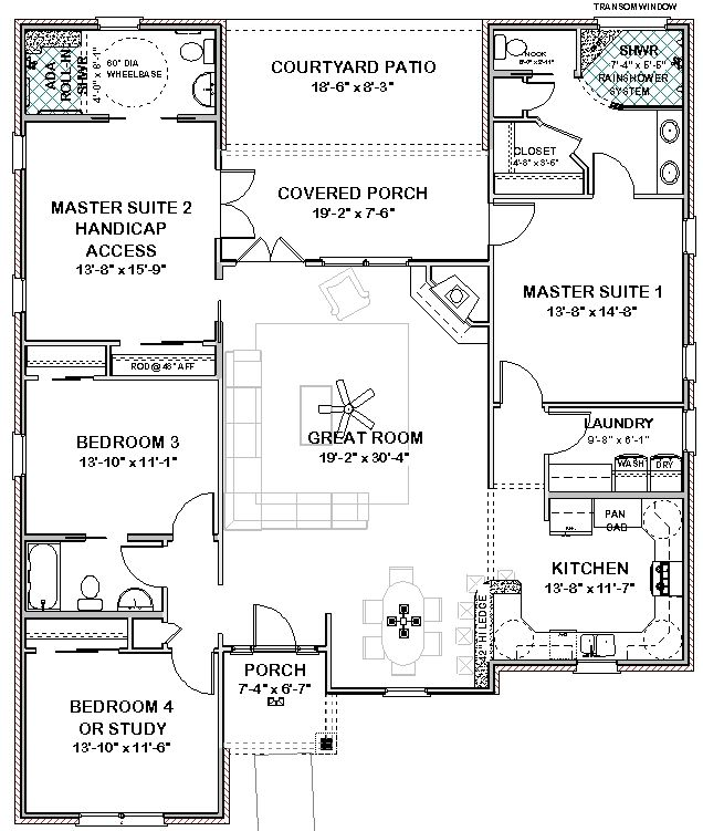 Account Suspended Master Suite Floor Plan House Plans Southern House Plans