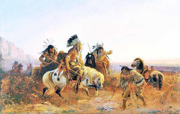 American Indian Wars   Pawnee Indians on the Great Plains   indian ...