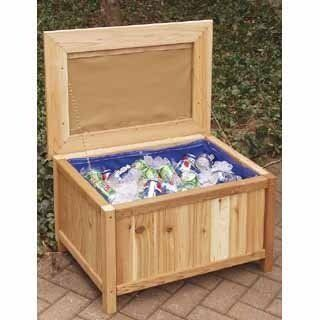 Cedar Creek 2028l Cushioned Storage Bench Ice Chest By Cedar Creek 152 91 Manufactured To The Hi Small Outdoor Storage Outdoor Storage Bench Outdoor Storage