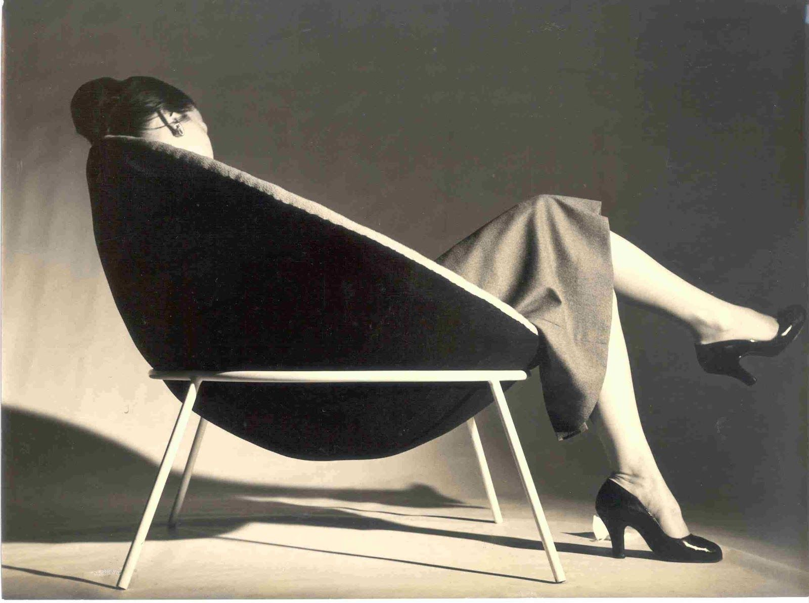 Barber chair sp 508s barber chair ar 182 barber furniture - Lina Bo Bardi Bowl Chair