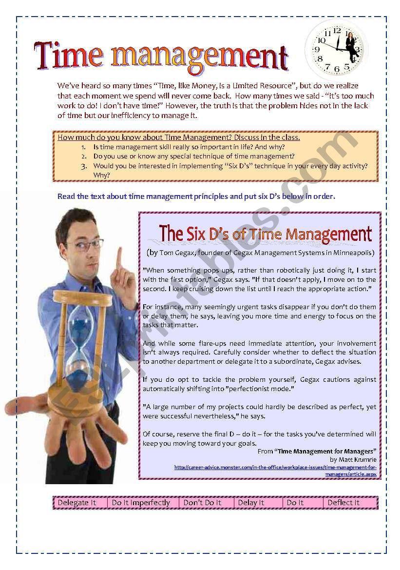 Time Management Worksheet Pdf Time Management Worksheet Time Management Worksheet Template