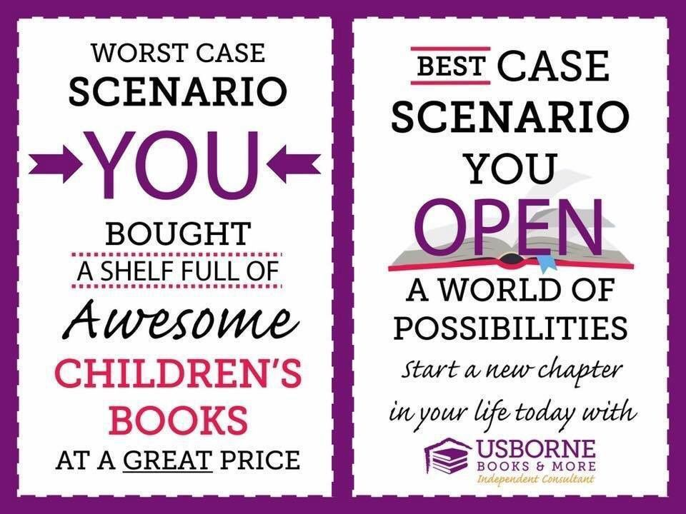 Become A Consultant Through My Usborne Books Team No Minimum Sales Requirement And An Amazing Welco Usborne Books Usborne Books Party Usborne Books Consultant