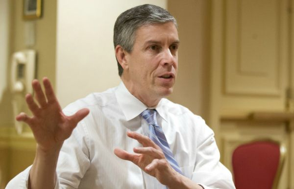 http://www.educationworld.com/a_news/arne-duncan-wants-discard-nclb-start-scratch-421375966 Education Secretary Arne Duncan plans to exchange No Child Left Behind for a new bill that focuses on creating a better foundation in preschool, making more resources availible to K-12 schools and reduces the emphasis on standardized testing. Read more below.