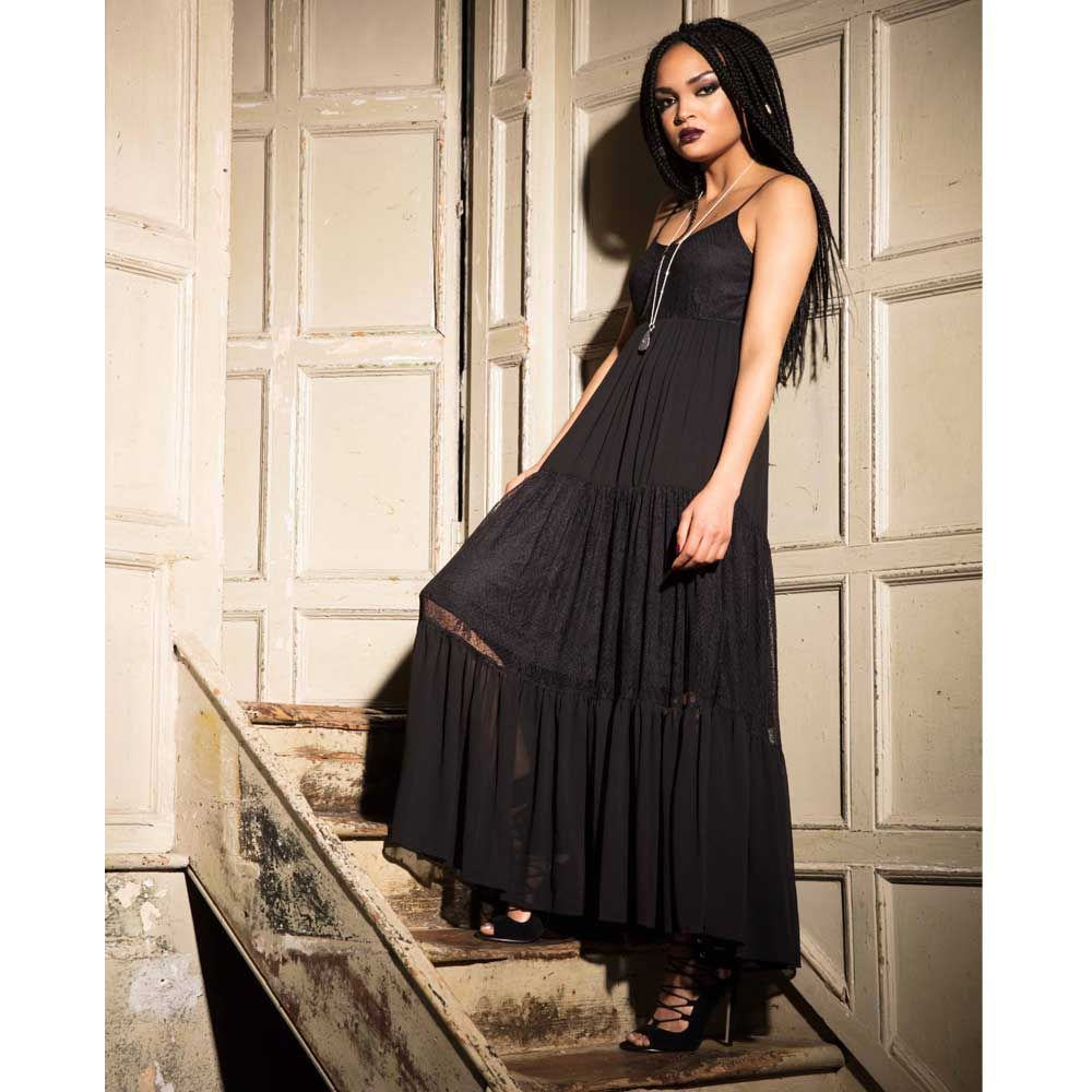 Beautiful Lace Maxi Dress For A Goth Summer Jurk Zwart Lange Jurken Jurken [ 1000 x 1000 Pixel ]