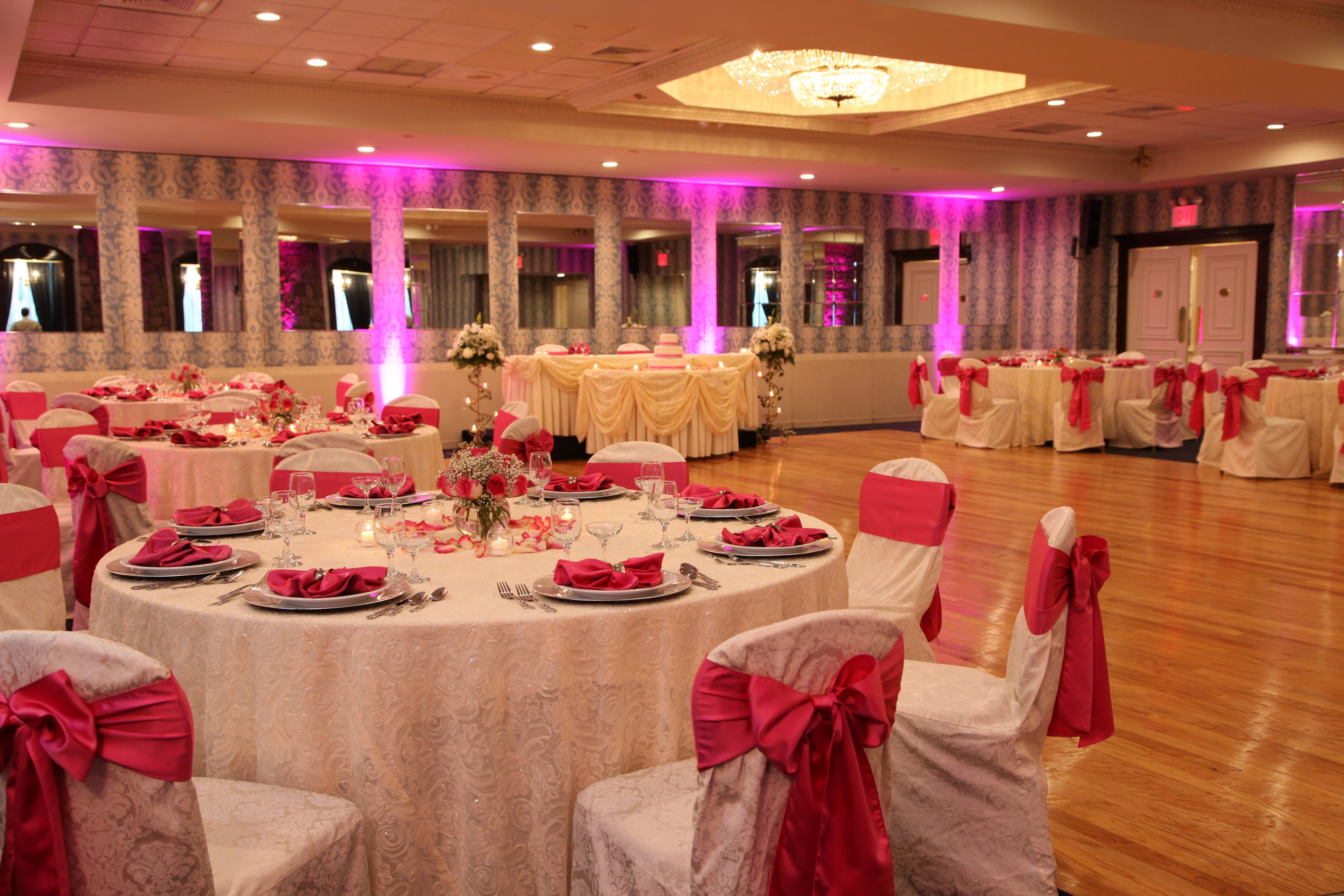 Antuns Antunsqueens Antunsqueensvillage Weddings Sweet16 Cateringhall Weddingreception Weddingceremony Q Catering Halls Fuschia Wedding Wedding Venues