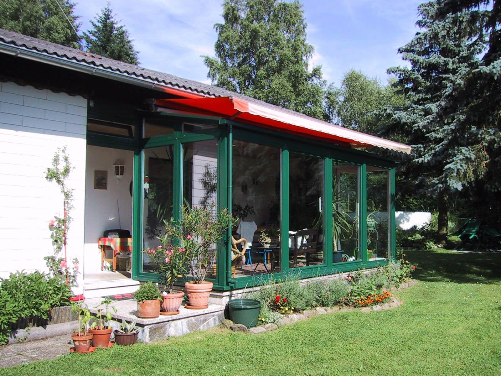 Wintergarten KunststoffAlu für Einfamilienhaus