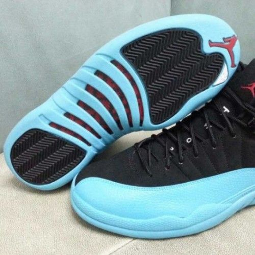 e1b7a2a06903b2 Air Jordan 12 Retro 130690-027 Black Gym Red-Gamma Blue Online ...