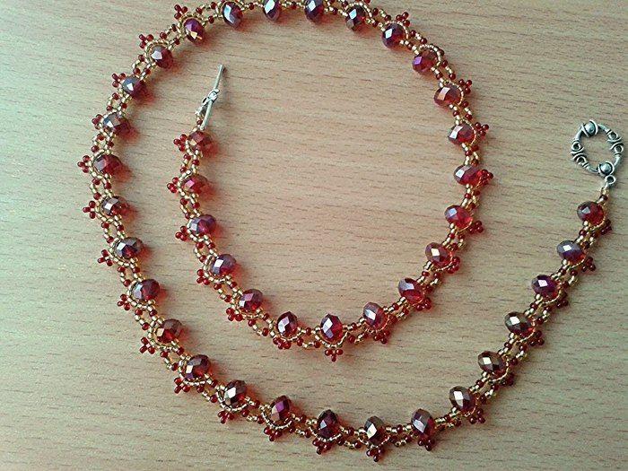 Бусы из бисера и бусин фото #4   Модное ожерелье, Бисерные ...