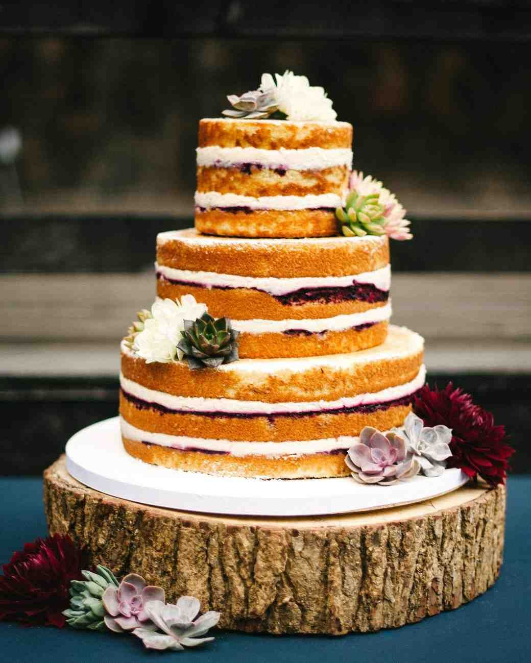 "Vegan And Gluten Free Wedding Cake Ideas Alternative: ""Smilf"" Star Frankie Shaw And Zach Strauss's Rustic-Chic"