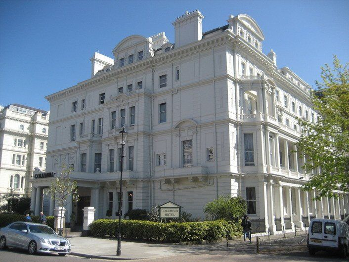 Columbia Hotel 95 99 Lancaster Gate London W2 3ns