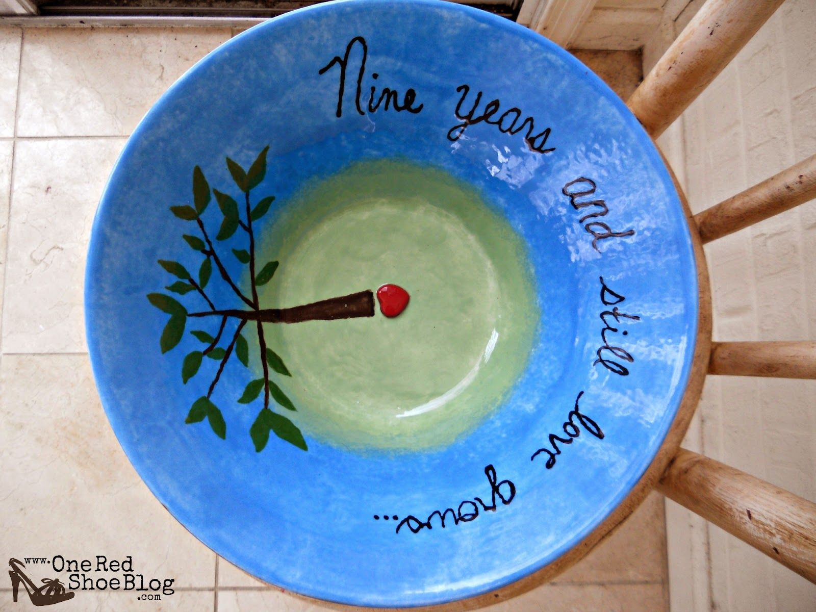 pottery anniversary gifts for her