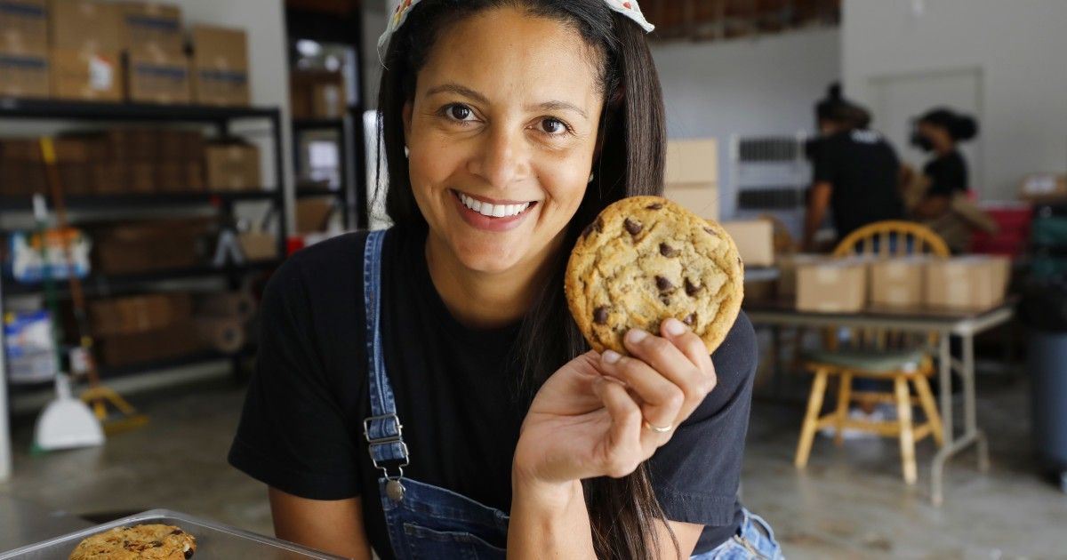 Black Lives Matter Movement Pushed San Diego Cookie Baker To No 1 The San Diego Union Tribune In 2020 Black Lives Matter Movement Gourmet Vegan Food Insecurity