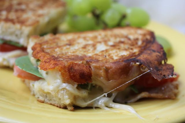 Grilled Tomato Cheese Sandwiches by Deals to Meals