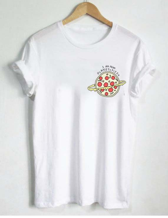 I Am From Planet Pizza T Shirt Size Smlxl2xl3xl Ropa