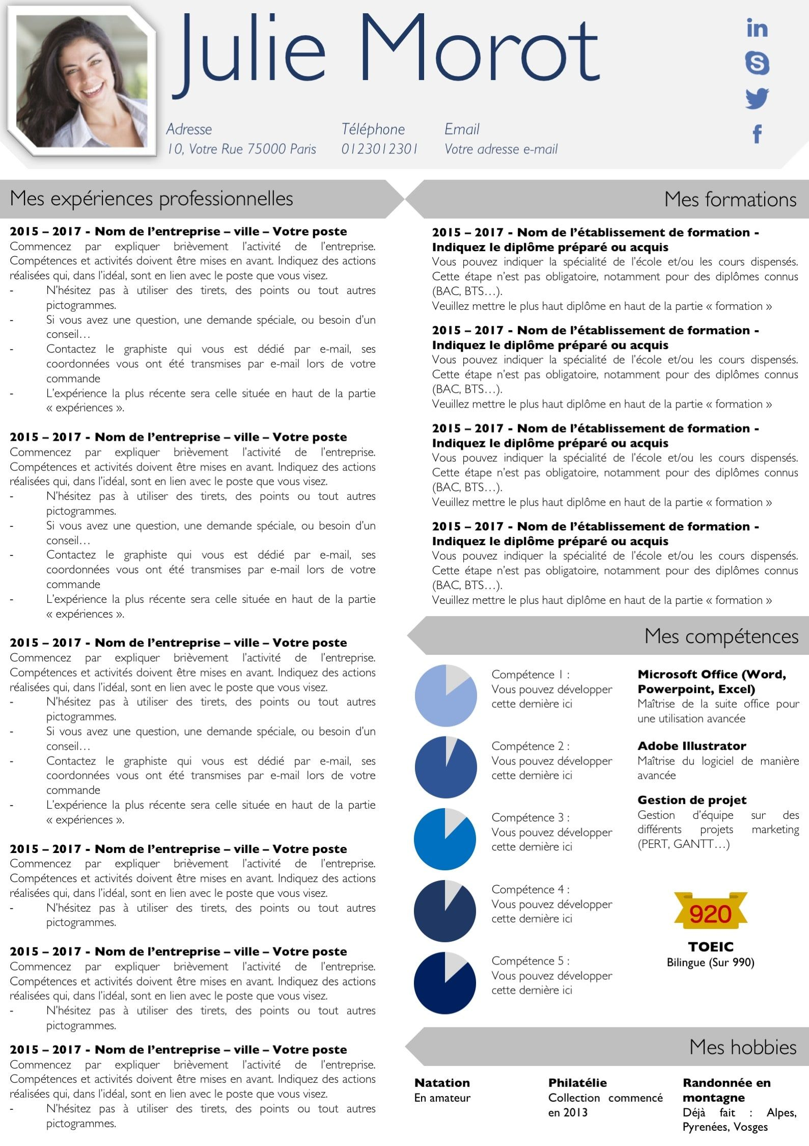 Modeles Cv Et Lettre De Motivation Gris Modifiable Pour 6 99 Lettre De Motivation Modele De Cv Design Lettre De Motivation Secretaire