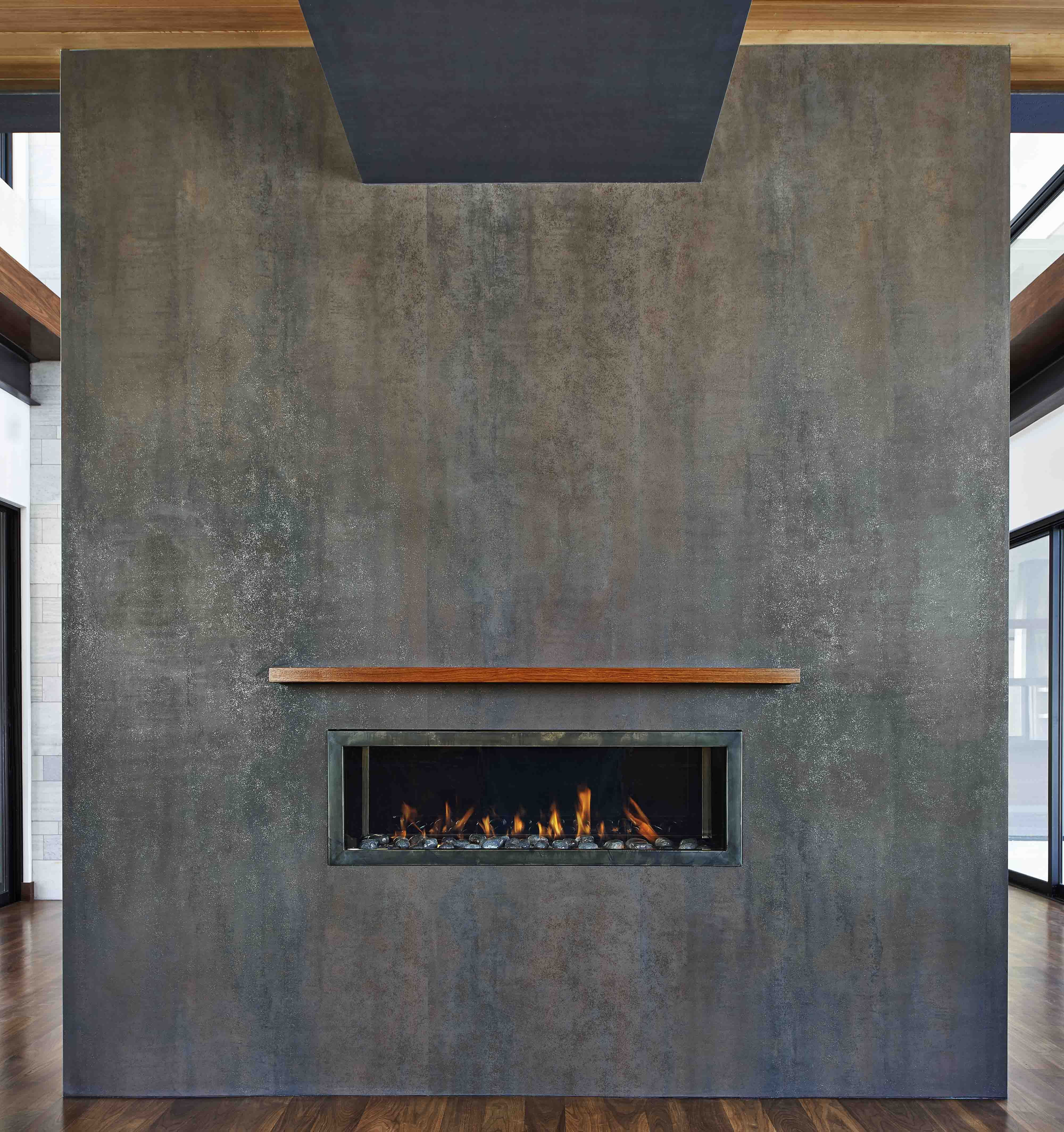 Modern Neolith Fireplace