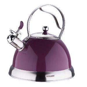 Wasserkessel Teekessel 2,6 L Edelstahl Pfeiffkessel Flötenkessel ...