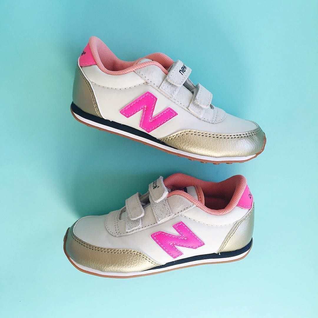 eb4dc61d0aed Cute x 2. Thanks for the snap  glitterguide. (Shop our girls  New Balance  for crewcuts 410 sneakers via the link in our bio.)  regram by jcrew