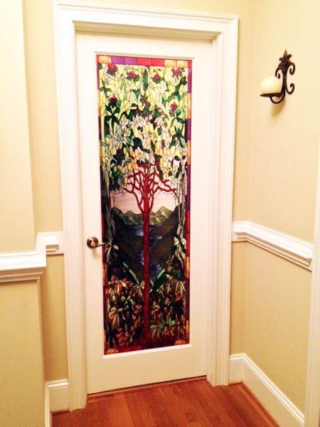 Privacy Tiffany Tree Of Life 3 Decorative Window Film Window