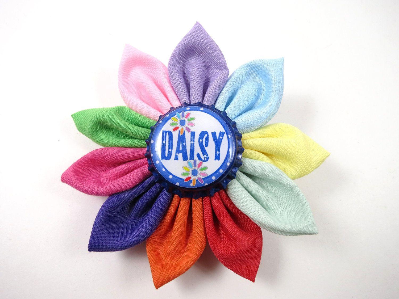 Daisy Scouts Hair Bow Daisy Flower Hair Clip Daisy Girl Scouts